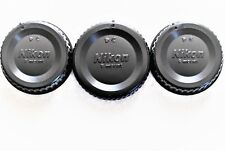 3X Nikon LF-4 REAR Lens Caps Fit All Nikon F-mount lenses FREE Fast U.S Shipping