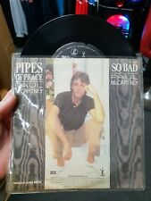 Paul MCartney - Pipes of Peace 45rpm 7 inch Vinyl Record - FREE POST