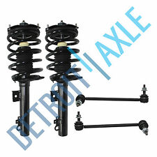 4pc Front Strut & Coil Spring Sway Bar Link 1996-2007 Ford Taurus Mercury Sable