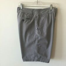 Valor Collective All Over Print Shorts Gray Men's Size 32