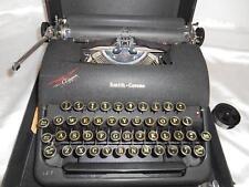 Old Vtg SMITH-CORONA CLIPPER MANUAL TYPEWRITER w/ Case Floating Shift WORKS FINE