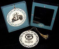 RARE MINT! Boxed 1996 GREEN BAY PACKERS Super Bowl XXXI Lenox Ornament / Lambeau