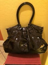 Vintage Salvatore Ferragamo Patent Leather Celtico Bag. Absolutely Beautiful.