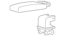Genuine Ford Armrest Assembly 3L2Z-78644A22-AAD
