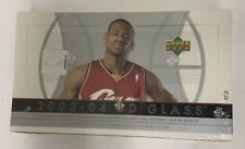 2003-04 Upper Deck Glass Basketball Hobby Box Lebron RC? Factory Sealed