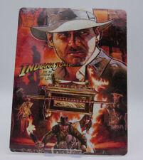 INDIANA JONES Raiders Lost Ark - Bluray Steelbook Magnet Cover (NOT LENTICULAR)