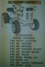 Gilson Tractor In Outdoor Power Equipment Manuals & Guides | eBay on old montgomery ward lawn tractor, ward's lawn tractor, gilson lawn tractor, 1950 montgomery ward tractor, montgomery ward rear tine tiller, montgomery ward garden tillers, 1975 gilson tractor, montgomery ward lawn mower, montgomery wards tractor parts, montgomery ward lawn tractor belts, montgomery ward signature 2000 lawn tractor, montgomery ward snowblower parts,