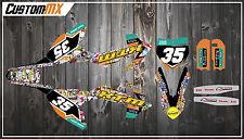 KTM SX50 SX65 Graphics Kit - Stickerbomb Series SX 50 SX 65 / Adventure / Junior
