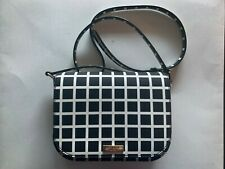 NWT Kate Spade WKRU4290 Large Carsen Laurel Way Printed Check Crossbody