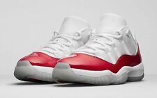 2016 Nike Air Jordan 11 XI Retro Low Cherry Red Size 9. 528895-405 1 2 3 4 5