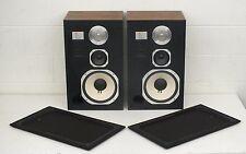 Vintage 1981 JBL L96 High-End 3-Way Speakers Oiled Walnut Cabinets EXCELLENT