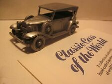 "Danbury Mint.Pewter Diecast,1/43 ""1932 Chevrolet Phaeton"" Classic Auto Model"
