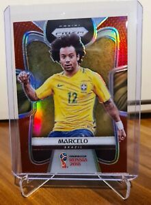 2018 Panini Prizm World Cup Red Base Soccer Marcelo 112/149