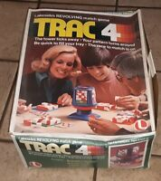 Vintage Lakeside TRAC 4 Revolving Matching Family fun brain Game 1976 complete