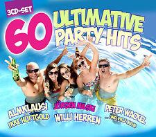 CD 60 Ultimative Party Hits de Varios Artistas 3CDs