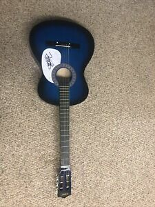 """VINCE GILL SIGNED AUTOGRAPH 38"""" ACOUSTIC GUITAR ACOA COUNTRY LEGEND GRAMMY"""