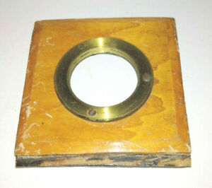 Antique 37mm Mounting Board for Brass Lenses