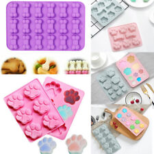 Bones Silicone Paws Chocolate Candy Cookie Mould Baking Ice Cube Jelly Cake Mold