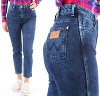Wrangler Damen Jeanshose Retro Slim Glace Blue Marineblau W27 - W32