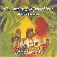 Villa Lobos: The Complete Solo Guitar Music CD