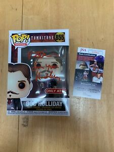 Funko Pop Target Excl. Signed Val Kilmer Doc Holliday Tombstone JSA Celebrity