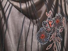 Beautiful brown Coast corset and full skirt evening wear size 12