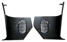 65 66 Chevelle and El Camino  Kick Panels  NO-A/C  Black