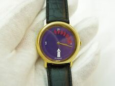 SNOW WHITE, Spinning Dwarves, Cast Member, RARE!!! DISNEY MEN'S WATCH,333, L@@K