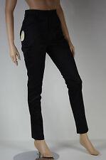 pantalon noir satiné slim taille haute femme CHEAP MONDAY   taille L ( T 42  )
