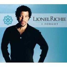 LIONEL RICHIE Forgot EXTENDED & LIVE TRX UK CD Single