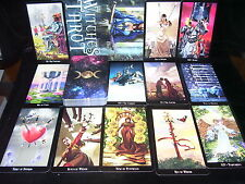 SEALED & BRAND NEW! WITCHES TAROT CARDS & BOOK ORACLE DIVINATION PAGAN WICCA