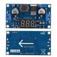 DC - DC Boost Buck Adjustable Step-up Converter Module Voltage Voltmeter Display