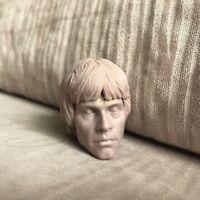 Free Shipping 1/6 scale Luke Skywalker Head Sculpt Star Wars male Unpainted