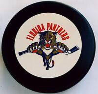 FLORIDA PANTHERS VINTAGE INGLASCO MFG. NHL CZECHOSLOVAKIA OFFICIAL HOCKEY PUCK