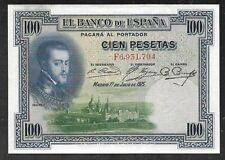 Spain - Old 100 Pesetas Note - 1925 - P69 - XF/AU
