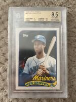 1989 Topps Traded Ken Griffey Jr Rookie Rc #41T BGS 9.5 HOF