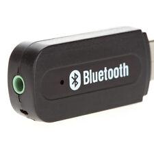 USB Wireless Bluetooth 3.5mm Music Audio Car Handsfree Receiver Adapter