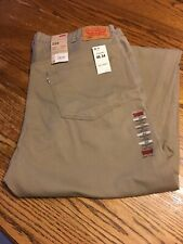 Levi's Men's 559 Relaxed Straight Fit Jeans W46 X L34 Tan Jeans/Pants