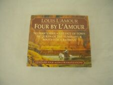 Louis L'Amour: Four by L'Amour : No Man's Man, Get Out of Town, McQueen of the T