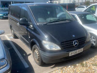 Mercedes Vito 115 CDI LWB SPARES OR REPAIRS EXPORT NO MOT gearbox whine