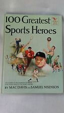 vintage 1954 childrens book 100 Greatest Sports Heroes