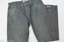 Topman Indigo, Dark wash Mid Rise 30L Jeans for Men