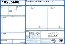 Full Engine Gasket Set RENAULT LAGUNA III V6 24V 3.0 235 V9X-891 (-1/2010)