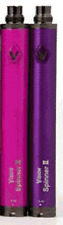 PINK/PURPLE-1650mAh Spinner 2 II VV Battery + 2 chargers