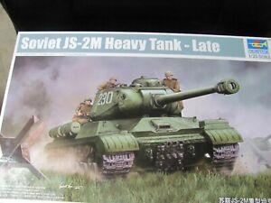 TRUMPETER - 1/35 = SOVIET JS-21 HEAVY TANK  - #05587