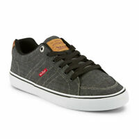 Levi's Mens Turner Chm Synthetic Nubuck Lace-up Casual Sneaker Shoe