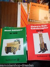 19418 30 Prospekte Gabelstapler Mappe Bulgarien Elektro Diesel Mappe