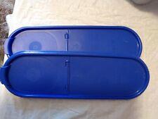 Tupperware Modular Mate Super Oval Seal Only Rare Brilliant Blue Rare Pour-All