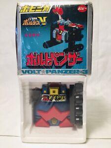 VINTAGE JAPAN ROBOT VOLTES V VOLT PANZER 3 PB-06 W/BOX Godaikin Popy