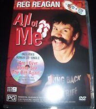 Reg Reagan All Of Me Comedy CD DVD (Australia Region 4) DVD – Like New
